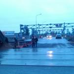 фото ж/д переезда Оккервиль на Дыбенко