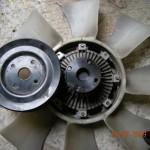 Вентилятор и шкив вентилятора D4BH